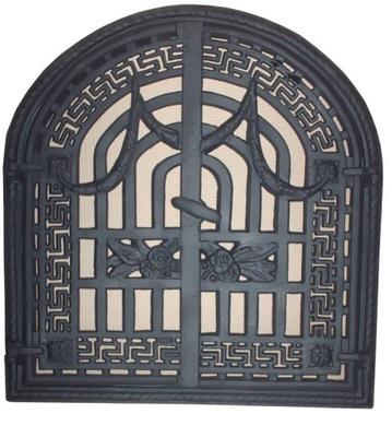 liatiny tracery dvere sporák rošt