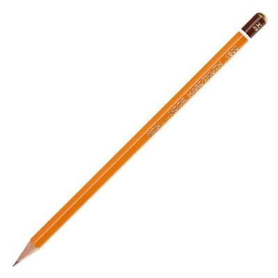 карандаш темно-серый 3Ч KOH-I-NOOR Одна тысяча пятьсот Школа , изучения