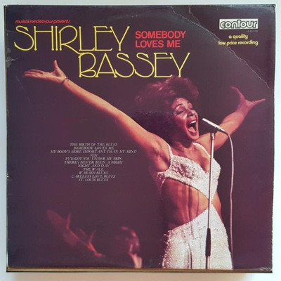 LP  Shirley Bassey - Somebody loves Me
