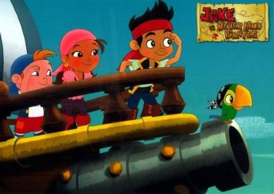 Джейк и пираты Neverland 01