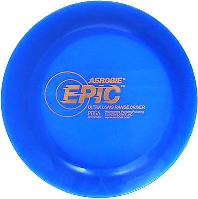 Modrá kotúč na hádzanie Epické