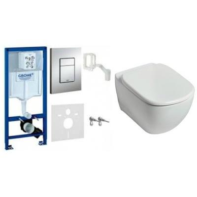 WC misa - DEAL TESI misa AQUABLADE GROHE rám pre toaletu 5in1