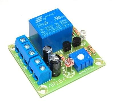 AR154 автоматический Выключатель сумеречный 12В kit