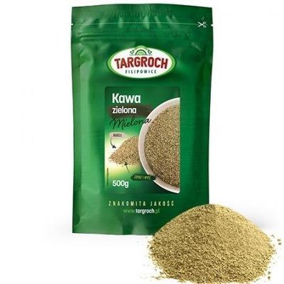 кофе зеленый молотая Арабика 500 г Fit TARGROCH