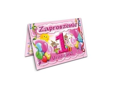 Ciasteczkowy Potwór Zaproszenia Roczek Urodziny 6803307299