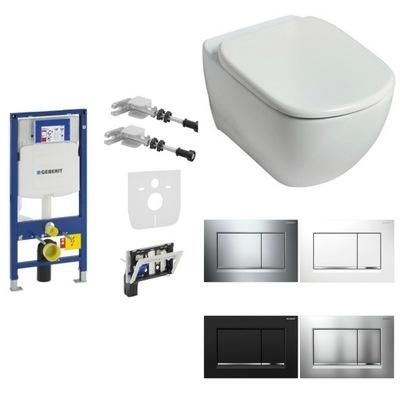WC misa - GEBERIT toaletný rám SIGMA TESI misa AQUABLADE Ideal