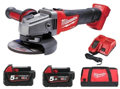 Brúska - MILWAUKEE ANGLE GRINDER 125mm M18 CAG-125X SET