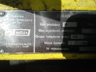 Zuraw przenosny żp. 160