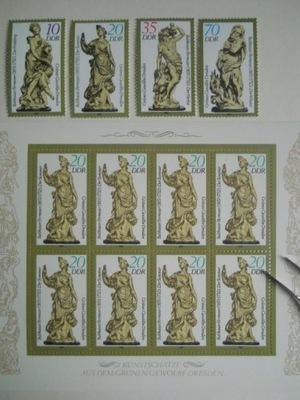 NRD - Mi.nr 2905-08 +arkusik - figurki  - **