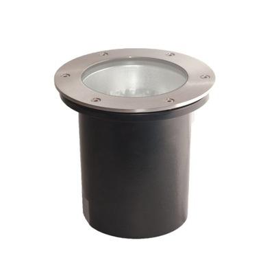 Nájazdové, nášľapné svietidlá - Lampa najazdowa PABLA okrągła LED E27 75W Duża