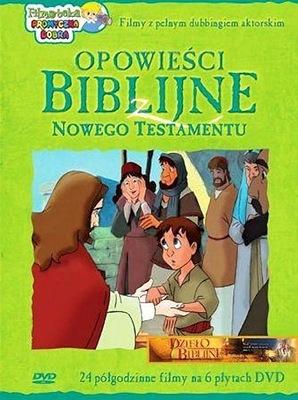 Opowieści Biblijne z Nowego Testamentu (6xDVD)