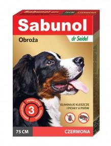 Сабунола красная воротник блох/клещей 75см