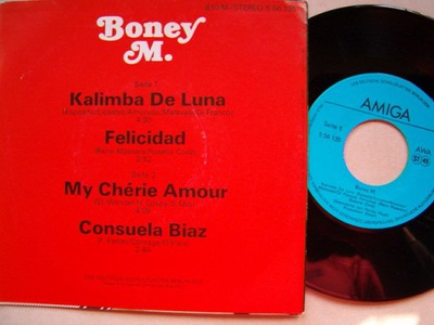 BONEY M. - KALIMBA DE LUNA - FELICIDAD - MY CHERIE