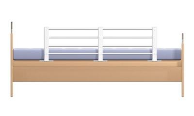 Ochranná bariéra pre posteľ 80-140 cm, biela REER