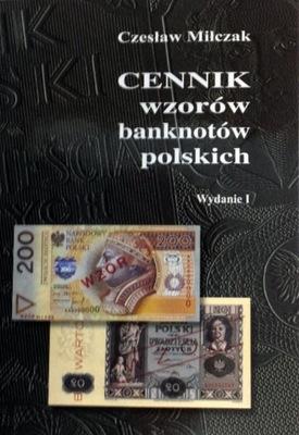 Прайс-лист ОБРАЗЦОВ банкнот польских Milczaka Milczak