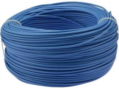 Káble, drôty, pružné kábla 1 mm2 LGY modré 100 m