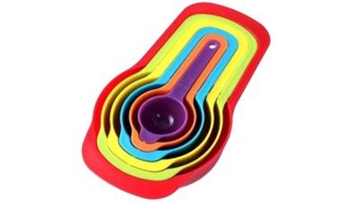 комплект мерок кухонных 6 штук кружки ложки Цвет