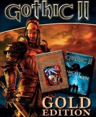 GOTHIC 2 II ZŁOTA EDYCJA GOLD + NOC KRUKA STEAM PL