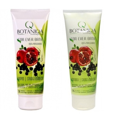 Botaniqa For Ever Bath шампунь 500 + кондиционер 500