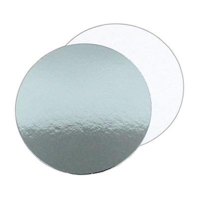 ПОДКЛАДКА Двусторонний БЕЛЫЙ серебро 25СМ прокладка