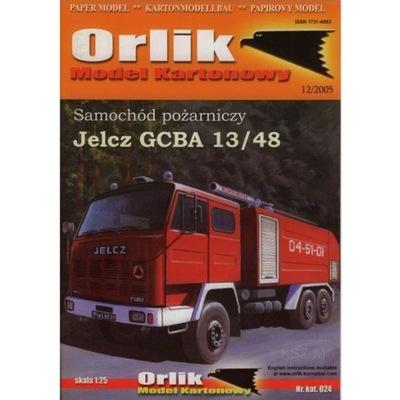 Orlik 024 - Samochód Jelcz GCBA 13/48 1:25