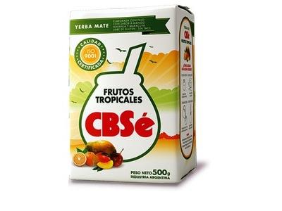 Yerba Mate CBSE FRUTOS TROPICALES 500g mango owoce
