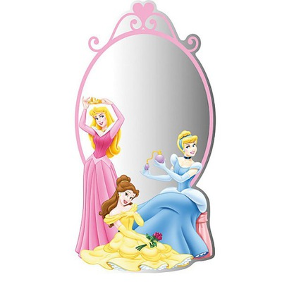 Fototapeta Disney Princess Mirror 55211