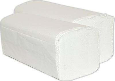 Osuška, uterák - Ręczniki papierowe ZZ 100% BIAŁE 100% CELULOZA 2W!