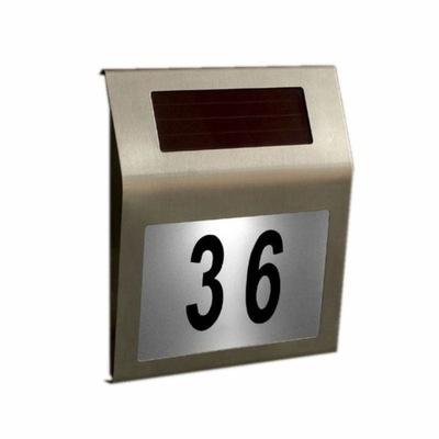 Солнечная номер дома, светящийся, полный комплект чисел