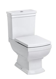 KOMPAKTNÝ WC S PALUBE WOLNOOPADAJĄCĄ retro dizajn