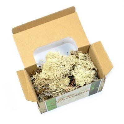 олений 50г мох декоративный натуральный