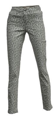 83ca77c68fefb5 SPODNIE DAMSKIE jeansy panterka klasyczne 46 - 6509730996 ...