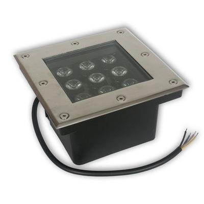 Nájazdové, nášľapné svietidlá - Lampa LED IP68 DMD110 RGB kontroler chodnik