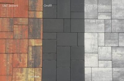 кубик Брусчатки, ARTA меланж 6 см на Подъезд Терраса