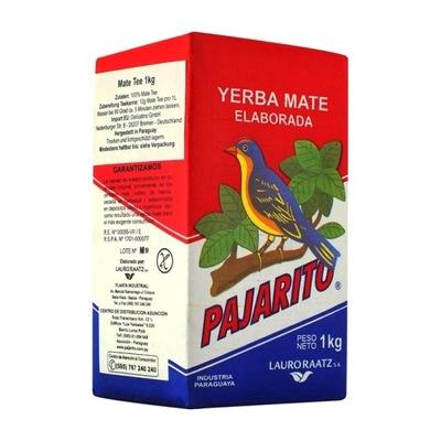 Yerba Mate Pajarito ELABORADA крепкая классическая 1кг