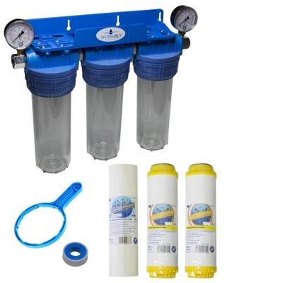 PRE-FILTER vody zmäkčovača FCP je FCCST CELÝ DOM,