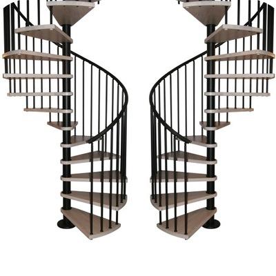 Лестница Вьющиеся , спиральные КОРА модель Мадрид 140 см