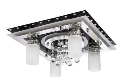 Stropné svietidlo Led stropné Svietidlo Krištáľový Luster