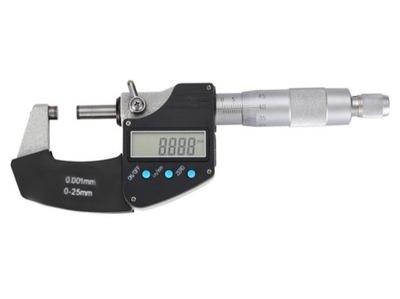 МИКРОМЕТР электронный NONIUSZOWY Ноль -25 /Ноль .001 мм