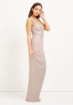 8aa037259f LIPSY wieczorowa maxi sukienka bodycon S 36 - 7472932419 - oficjalne ...