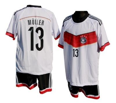 417e41cf832b6d strój piłkarski Niemcy r. 134-140 - 7192368144 - oficjalne archiwum ...
