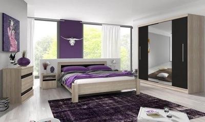 Мебель спальни комплект шкаф зеркало кровать комод