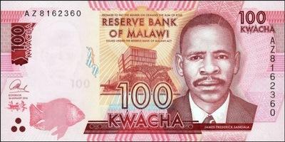 Малави 100 квач Школа медицинская 2016 P-65б