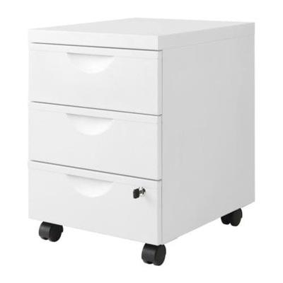 IKEA bielizníka 3 zásuvky ERIC biela kuriér