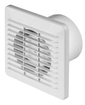 VENTILÁTOR-EXTRAKTOR ventilátora pre kúpeľne WB100 ZÁKLADNÉ 98m3/h