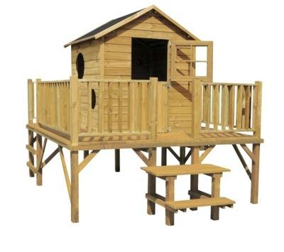 Drevený záhradný domček pre deti Maciej 4iQ