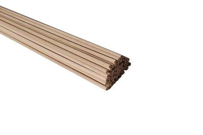 КОЛЫШКИ ПАЛКИ деревянные 8 мм Ноль , /штук