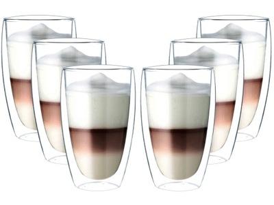 Pohár Tepelnej kávovar Šálke Čaju, 6 kusov