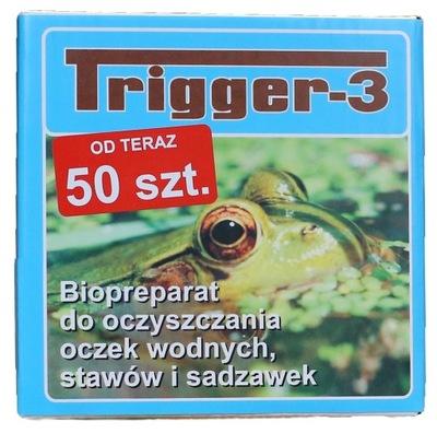 TRIGGER-3 , 50 штук . водоем Водные водоросли зеленый вода
