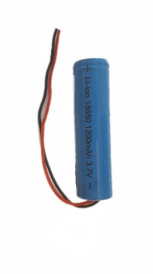 аккумулятор 3 ,7 V, Одна тысяча двести мач с кабелем 2 пины, Li-Ion